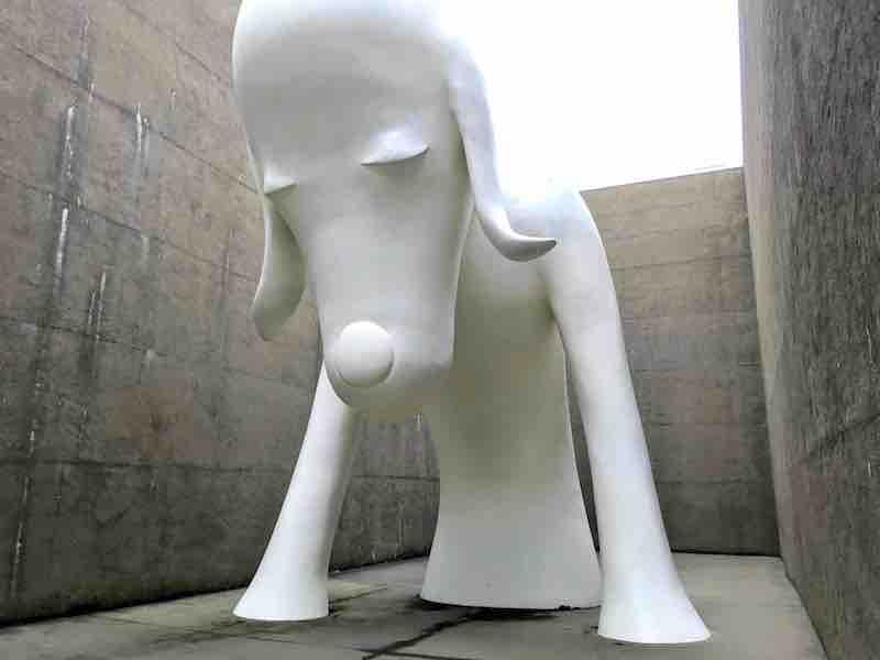 青森県立美術館のあおもり犬