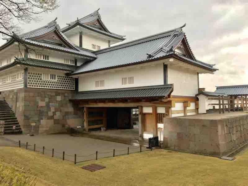 石川県 金沢城の入り口の門