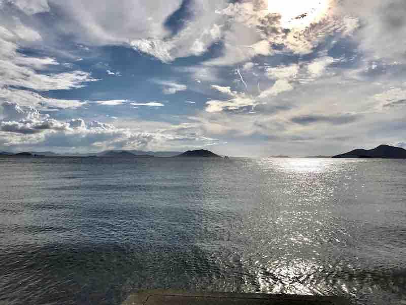 小豆島 瀬戸内海 海 穏やかな波