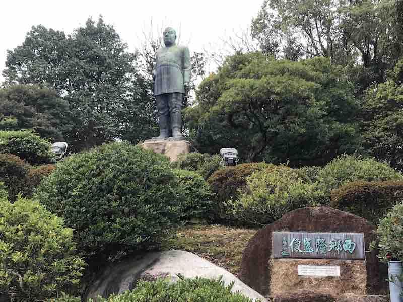 鹿児島県 西郷隆盛 銅像