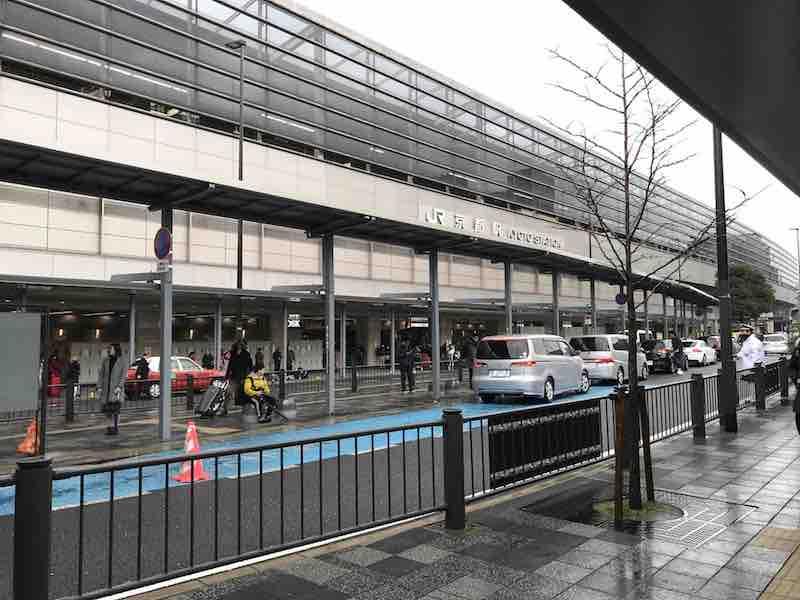 京都駅 南口側