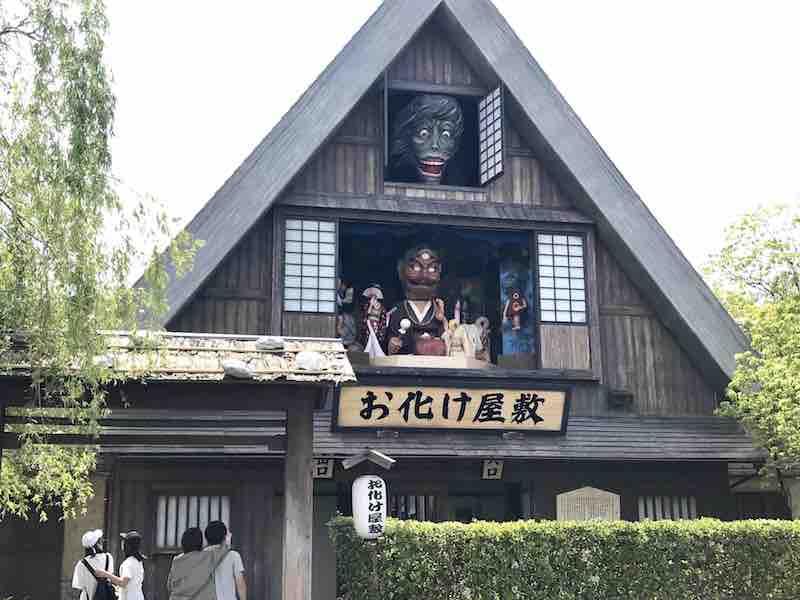 三重県 ナガシマリゾートのお化け屋敷