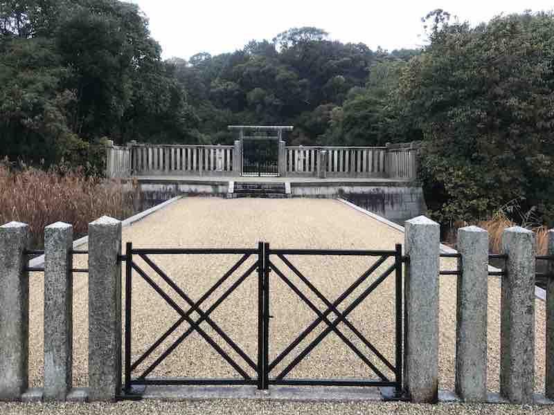 奈良県 仁徳天皇の古墳