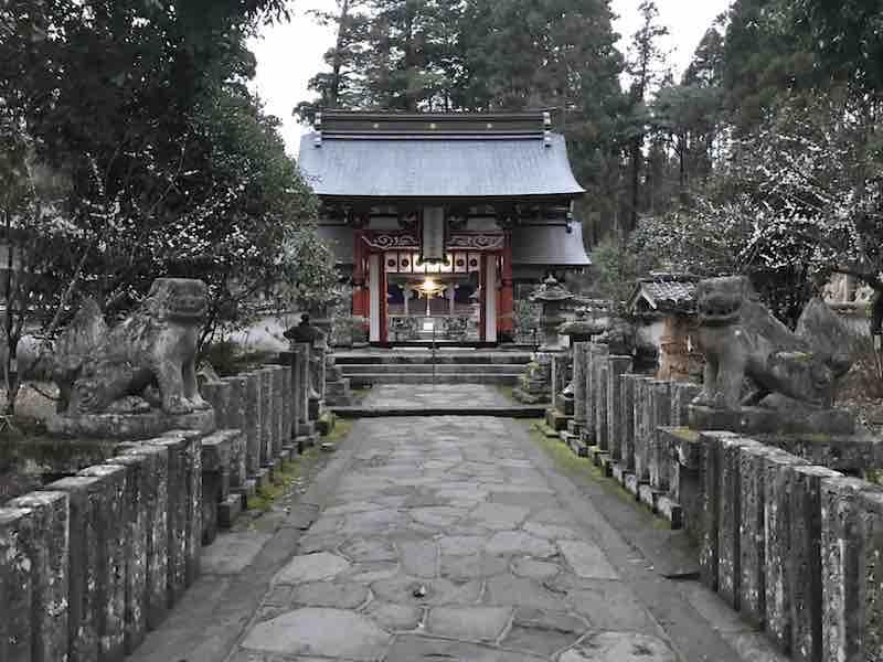 大分県 湯布院 宇奈岐日女神社