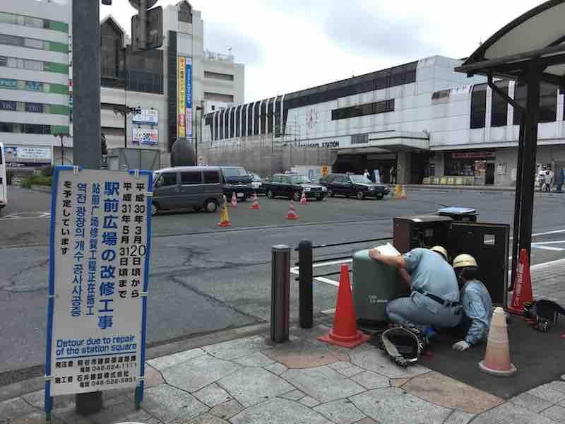 埼玉県 熊谷駅前