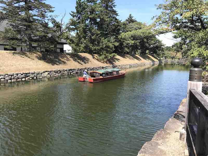 彦根城周辺の屋形船