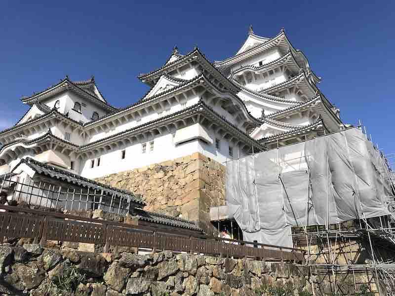 工事中 兵庫県 姫路城