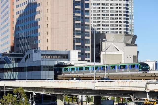 東京モノレールの遠景