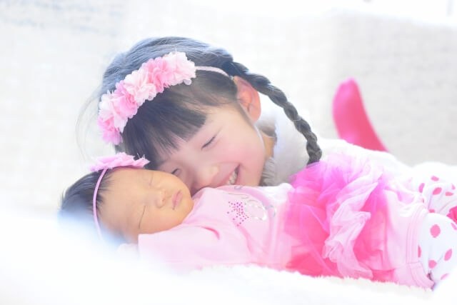 妹の誕生 姉妹