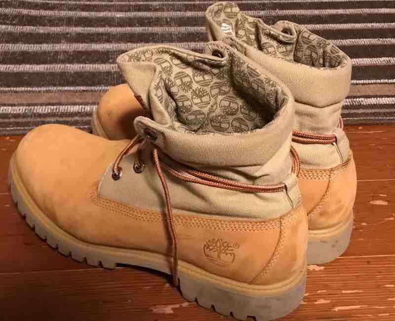ティンバーランドのブーツ、靴