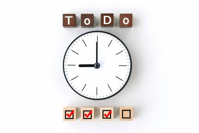 ToDoの時間設定イメージ