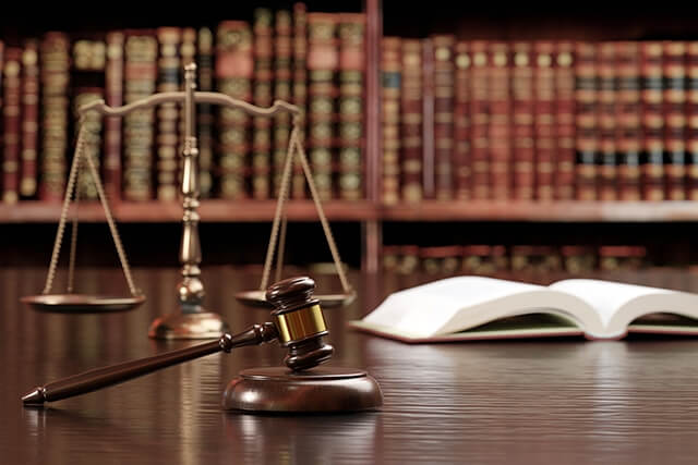 法律・司法、裁判の道具