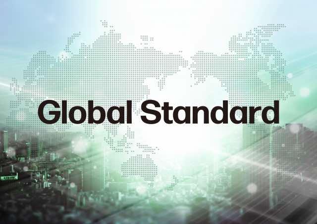 global standardの文字