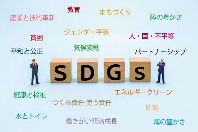 SDGsの説明イラスト