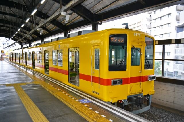 東武鉄道のワンマン電車
