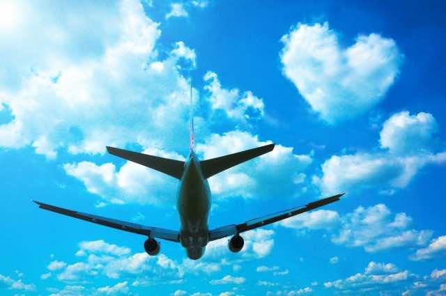 民間航空機の飛行