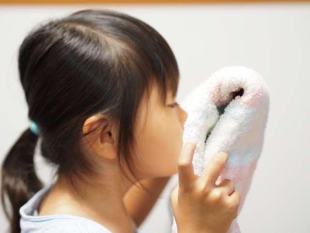 良い香りのタオル