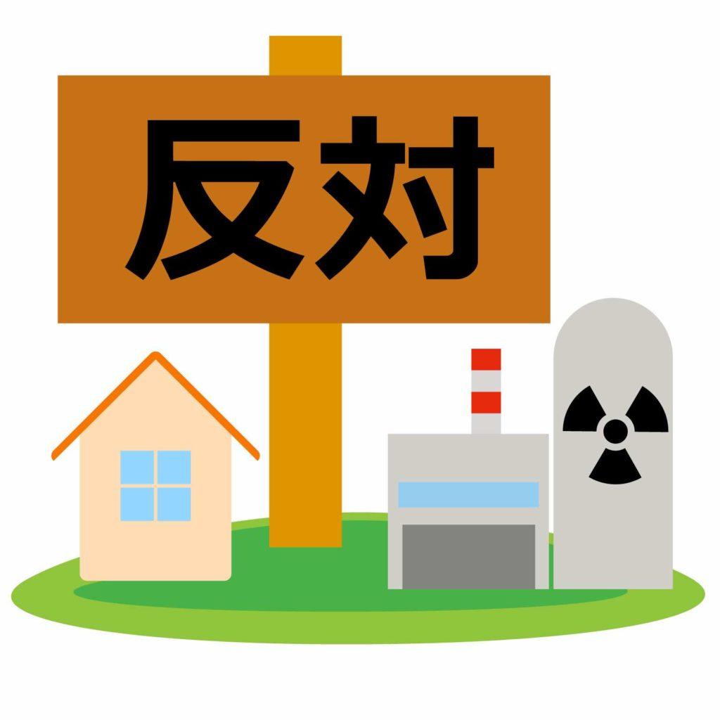 原子力反対のイメージ