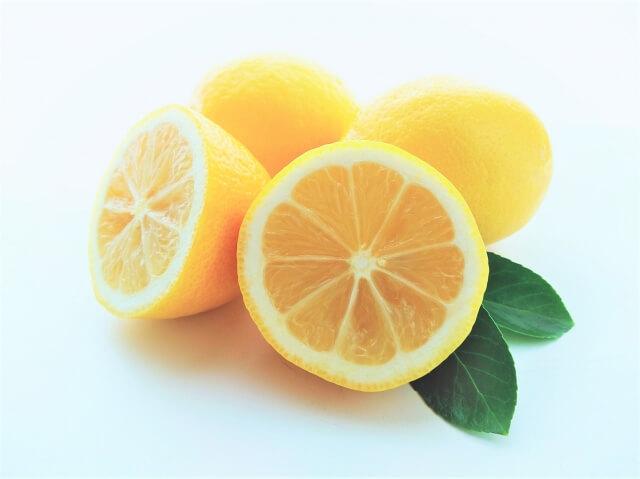 レモンのカット