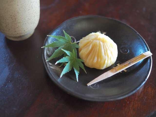 和菓子の栗きんとん