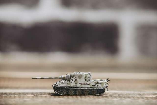 戦車のミニチュア