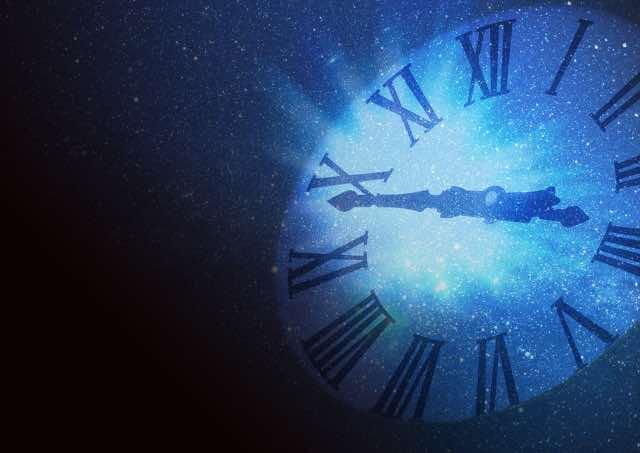 時間と宇宙のイメージ