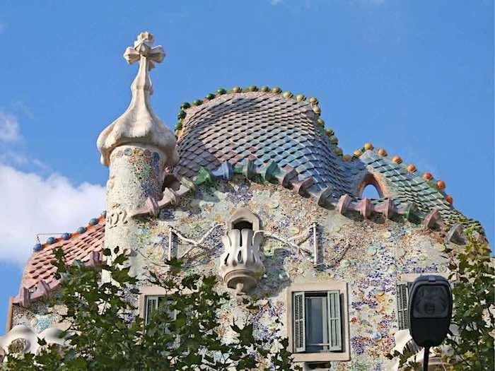 スペインバロセロナのカサ・バトリョ