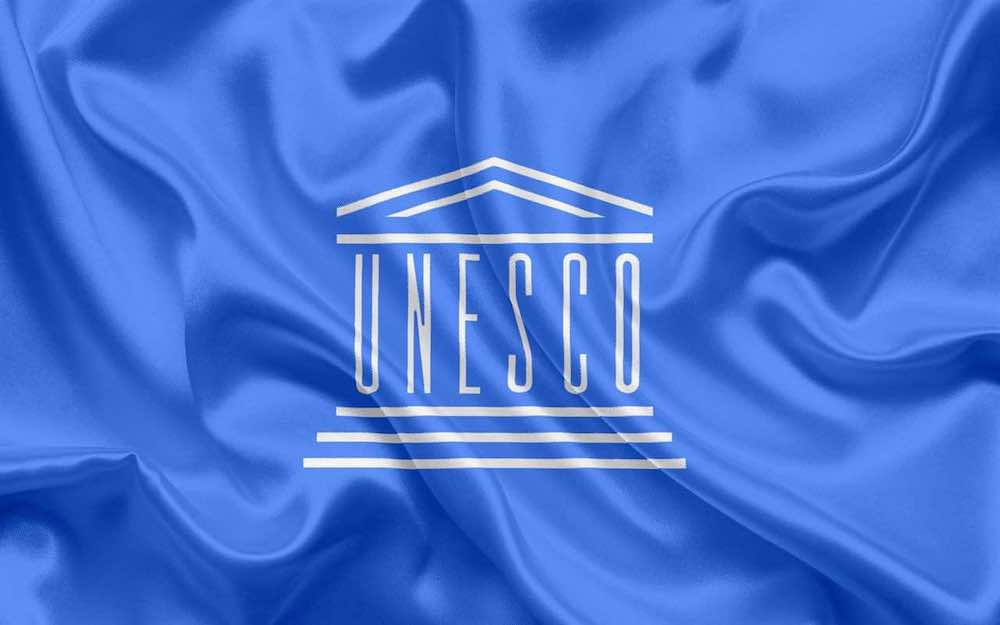 ユネスコの旗