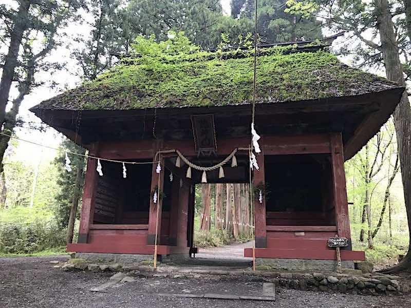 戸隠 奥社への門