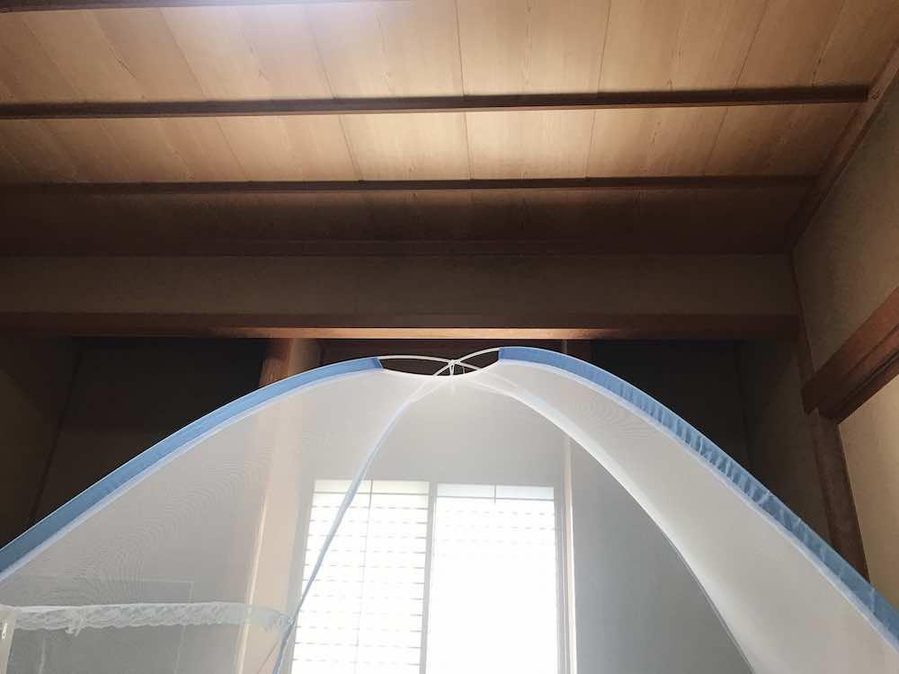 蚊帳のイメージ