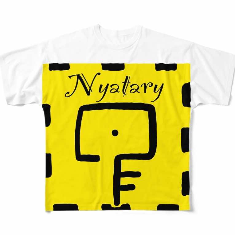 ニャタリーの目、Tシャツ(表)